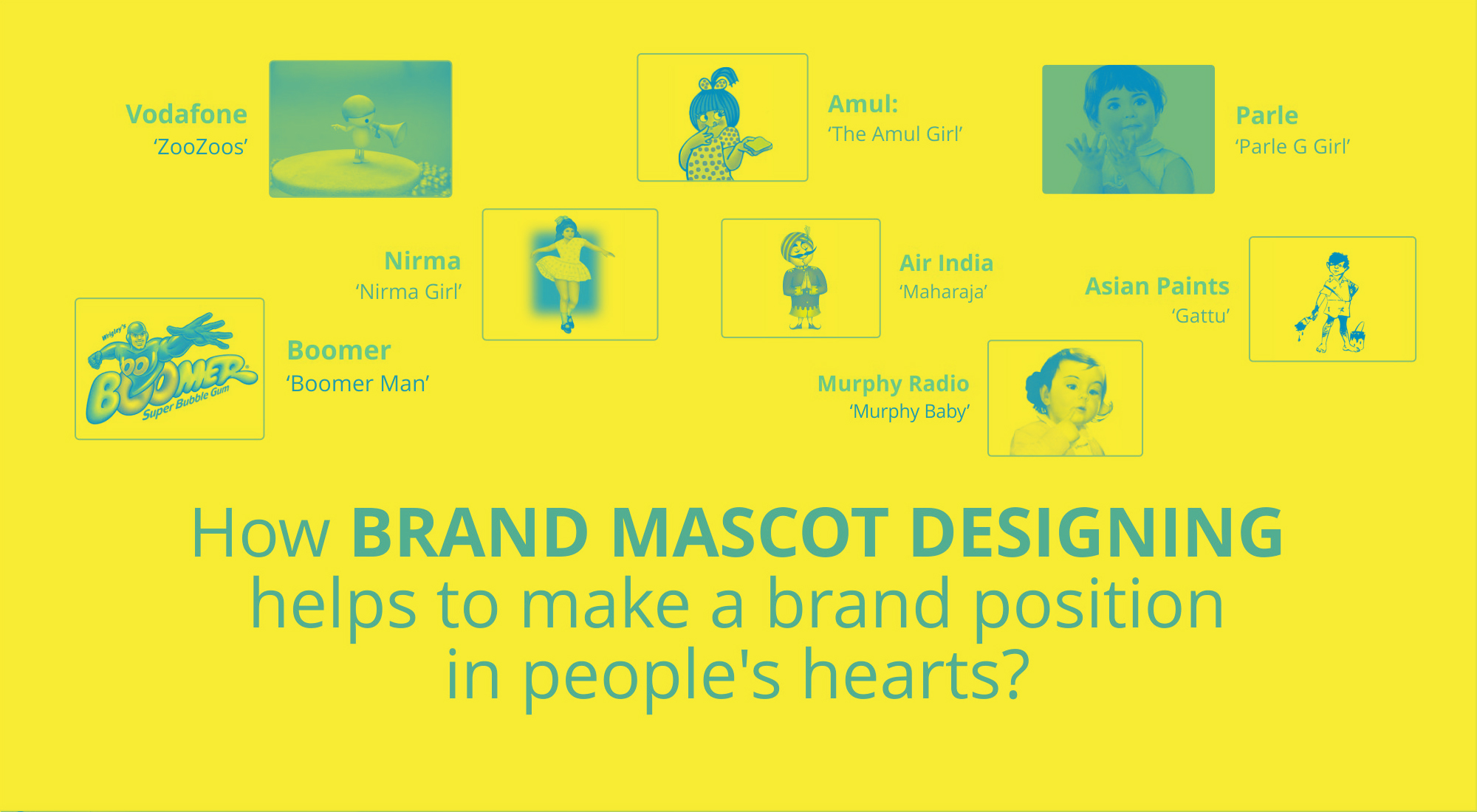 How Brand Mascot Designing Helps to Make a Brand Position in People's Hearts